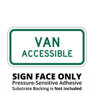 R7-8P Van Accessible Sign Face