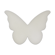 "11.5"" x 8.5"" Specialty Shape Aluminum Sign Blank - Butterfly"