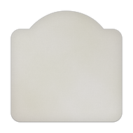 """18"""" x 18"""" Specialty Shape Aluminum Sign Blank - Small Dome"""
