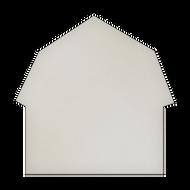 "18"" x 18"" Specialty Shape Aluminum Sign Blank - Barn"