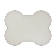 "24"" x 18"" Specialty Shape Aluminum Sign Blank - Large Bone"