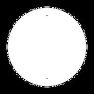"""30"""" Circle Non-Reflective Sign Blank"""