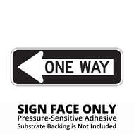 R6-1 One Way Sign Face