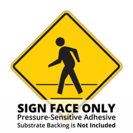 HW11A-2 Pedestrian Advance Sign Face