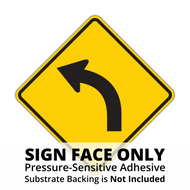 W1-2 Curve Sign Face