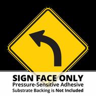 W1-2 Curve Sign Face