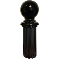 "4"" Ball Finial - Fluted Posts"