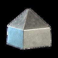 "2"" Square Pyramid Style Rain Cap"