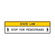 R1-9a Overhead Pedestrian Crossing