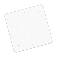 "36"" x 36"" Universal Punch Reflective Sign Blank"