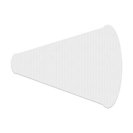 "24"" x 18"" Megaphone Corrugated Plastic Sign Blanks"