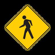 """12"""" W11-2 Pedestrian"""