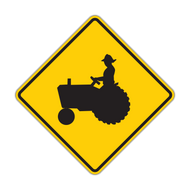 "12"" W11-5 Farm Vehicle"
