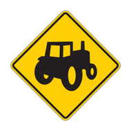 "12"" W11-5a Farm Vehicle"