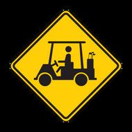 """12"""" W11-11 Golf Cart"""