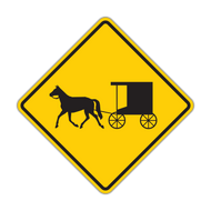 "12"" W11-14 Horse-Drawn Vehicle"