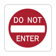 "12"" R5-1 Do Not Enter"