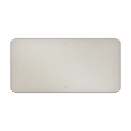 "30"" x 15"" Aluminum Sign Blank - Standard Punch"