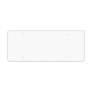 "60"" x 24"" Reflective Sign Blank"