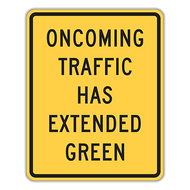 W25-1 Traffic Signal Extended Green