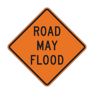 W8-18 Road May Flood (Construction)