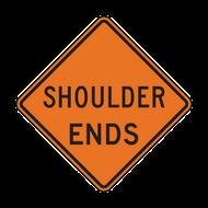 W8-25 Shoulder Ends (Construction)
