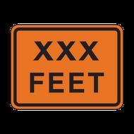 W16-2P XXX Feet (Construction)