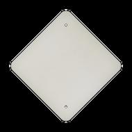 "12"" Diamond Punch Aluminum Sign Blank"