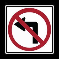 R3-2 No Left Turn