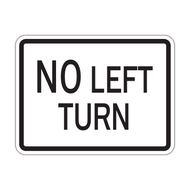 HR3-2P No Left Turn