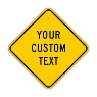 "18"" Diamond Custom Sign"
