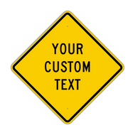 "30"" Diamond Custom Sign"