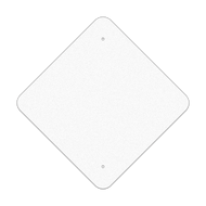 "18"" Diamond Reflective Sign Blank"