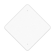 "24"" Diamond Reflective Sign Blank"
