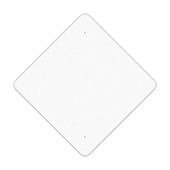 "36"" Diamond Reflective Sign Blank"