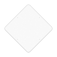 "48"" Diamond Reflective Sign Blank"