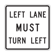 R3-7 Mandatory Turn Left (Right)
