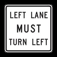 R3-7 Mandatory Turn Left (Right)