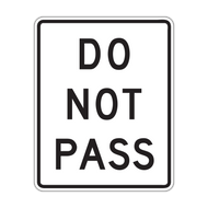 R4-1 Do Not Pass