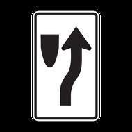 R4-7c Narrow Keep Right