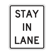R4-9 Stay in Lane