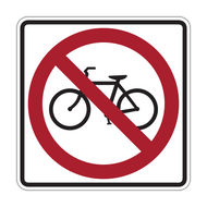 R5-6 No Bicycles