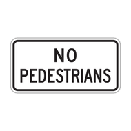 R5-10c No Pedestrians