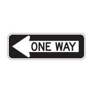 R6-1 One Way