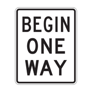 R6-6 Begin One Way