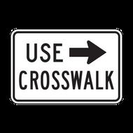 R9-3bP Use Crosswalk