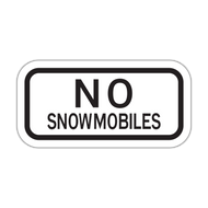 HR2-11P No Snowmobiles