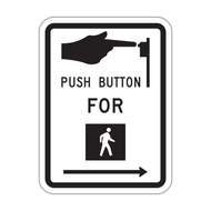 R10-3 Push Button for Walk Signal