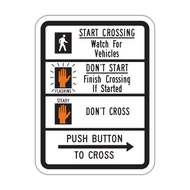R10-3b Push Button to Cross