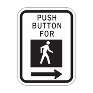 HR10-4b Push Button - Cross